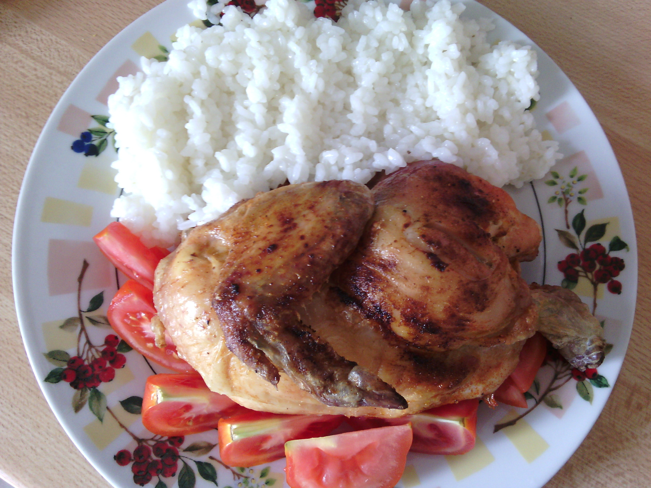 Křupavé kuře z trouby