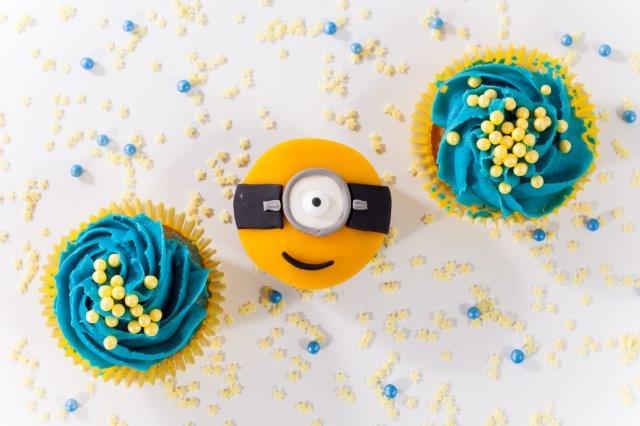 Mimoní cupcakes