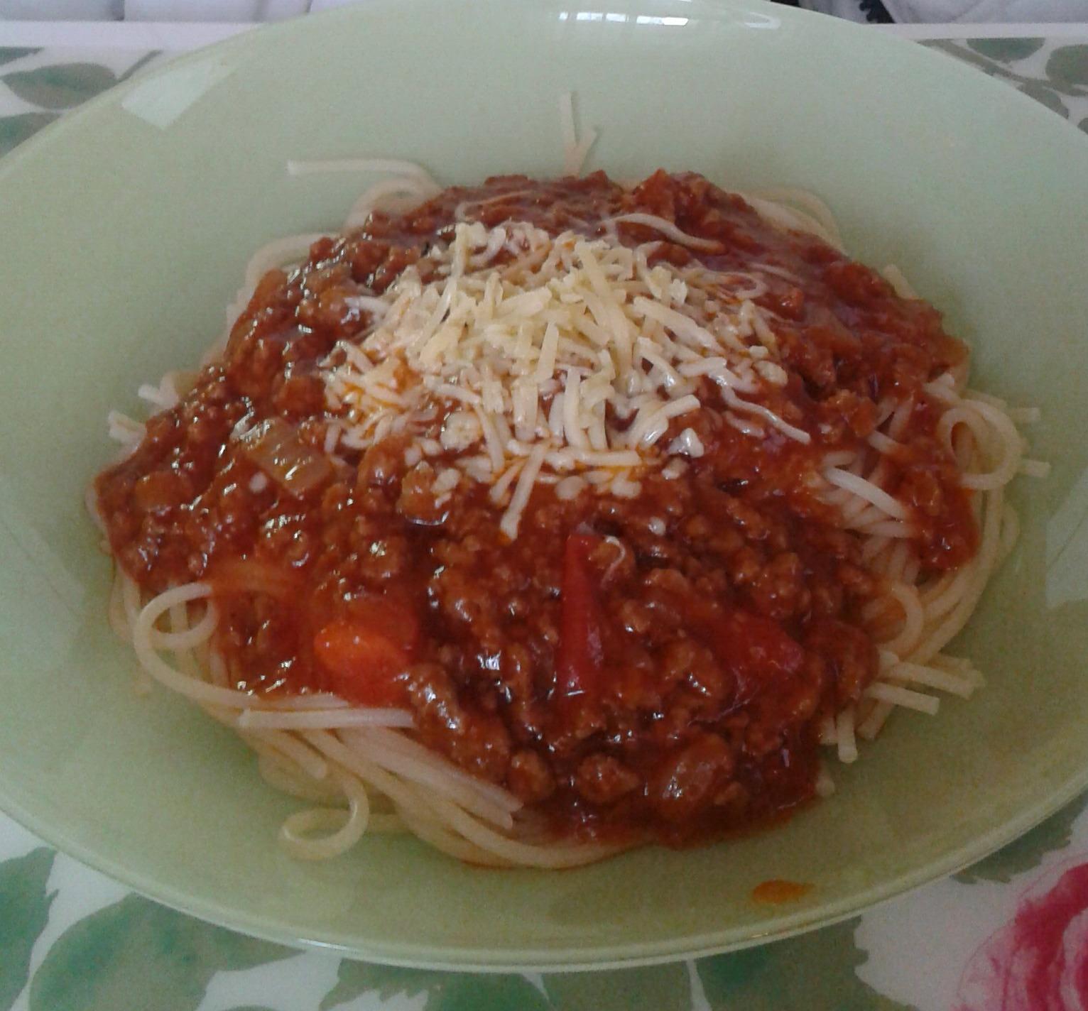 Výborné boloňské špagety