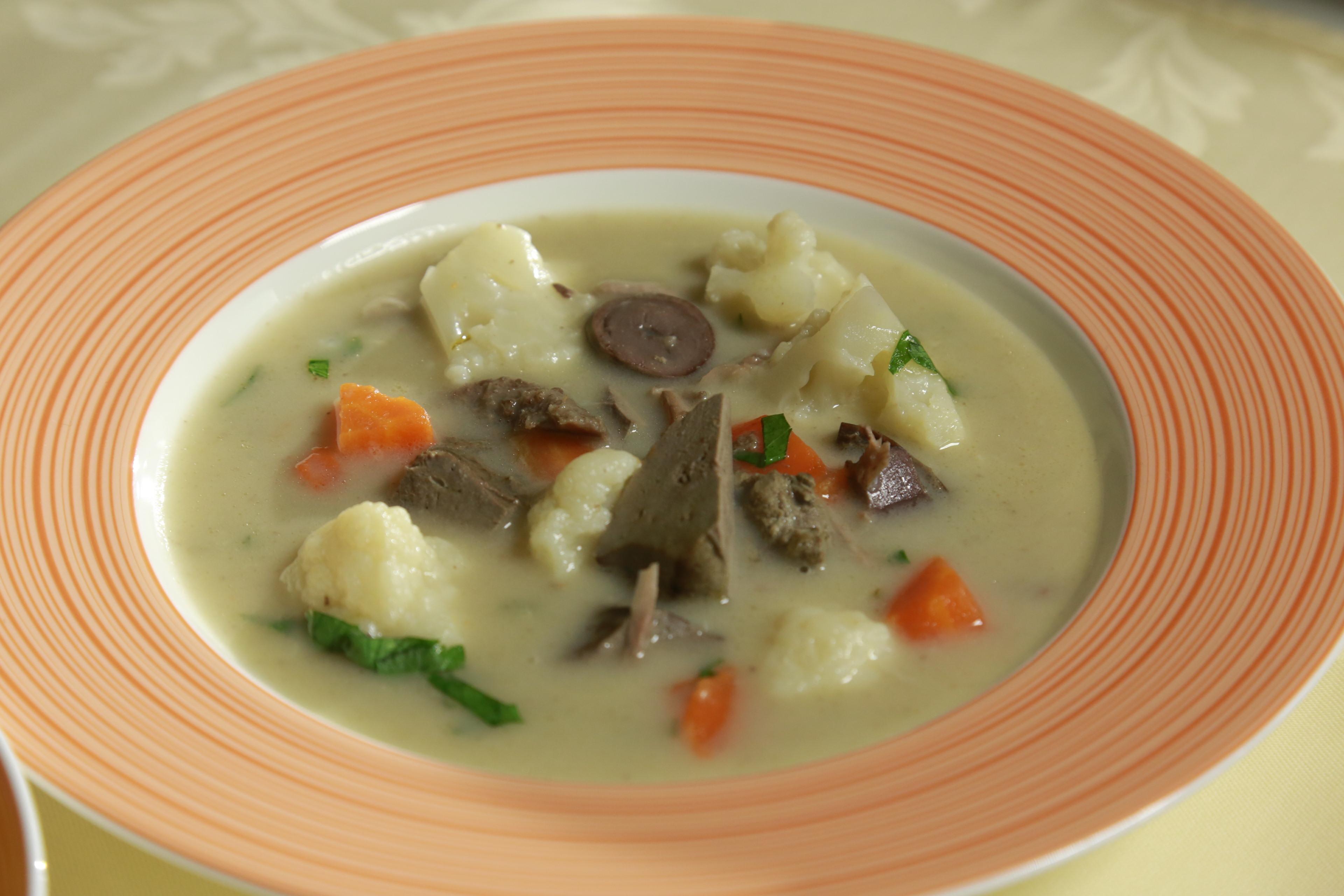 Chutná drůbková polévka