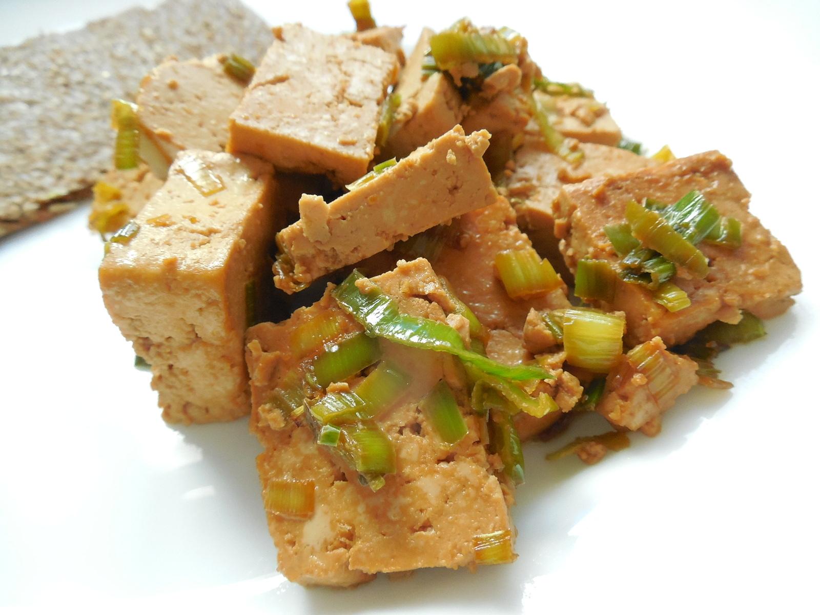 Rychlé marinované tofu