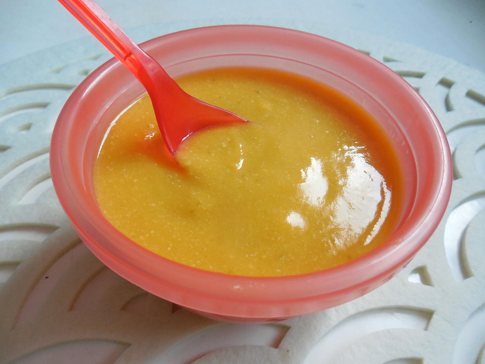 Fotografie receptu: Výživný příkrm z máslové dýně
