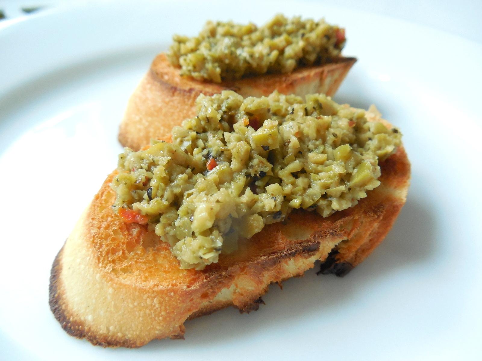 Fotografie receptu: Tapenáda ze zelených oliv