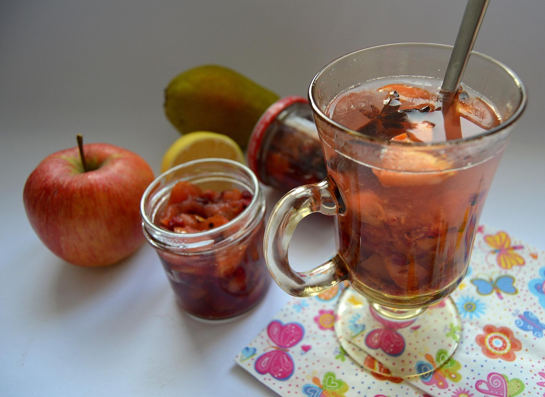 Fotografie receptu: Podzimní pečený čaj