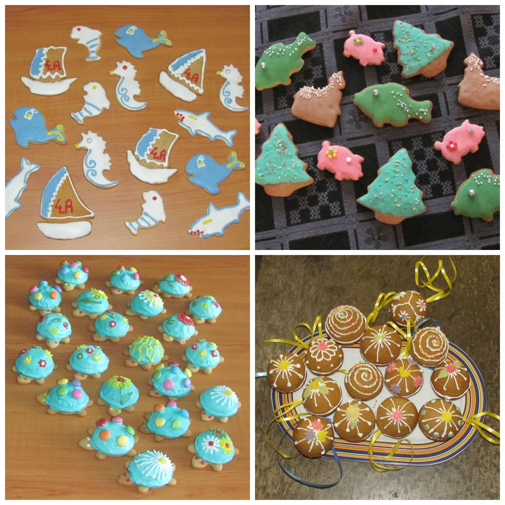Perníčky na Vánoce, Velikonoce i chaloupku