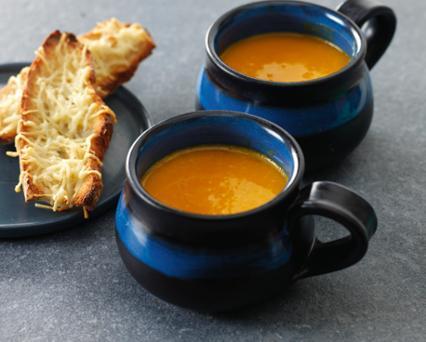 Fotografie receptu: Krémová dýňová polévka