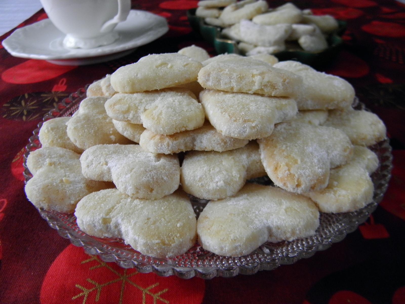 Pískové vánoční cukroví