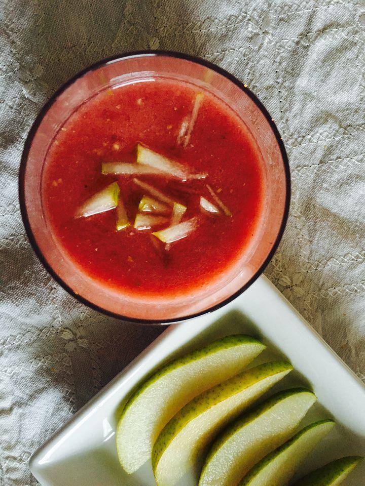 Fotografie receptu: Růžové smoothie