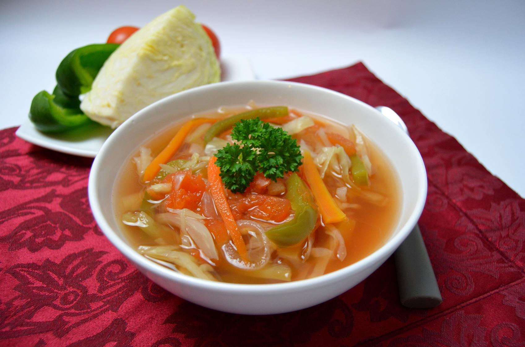 Lehká tukožroutská polévka