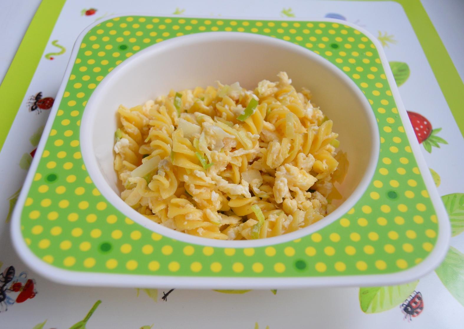 Bezlepkové kukuřičné těstoviny s vejcem