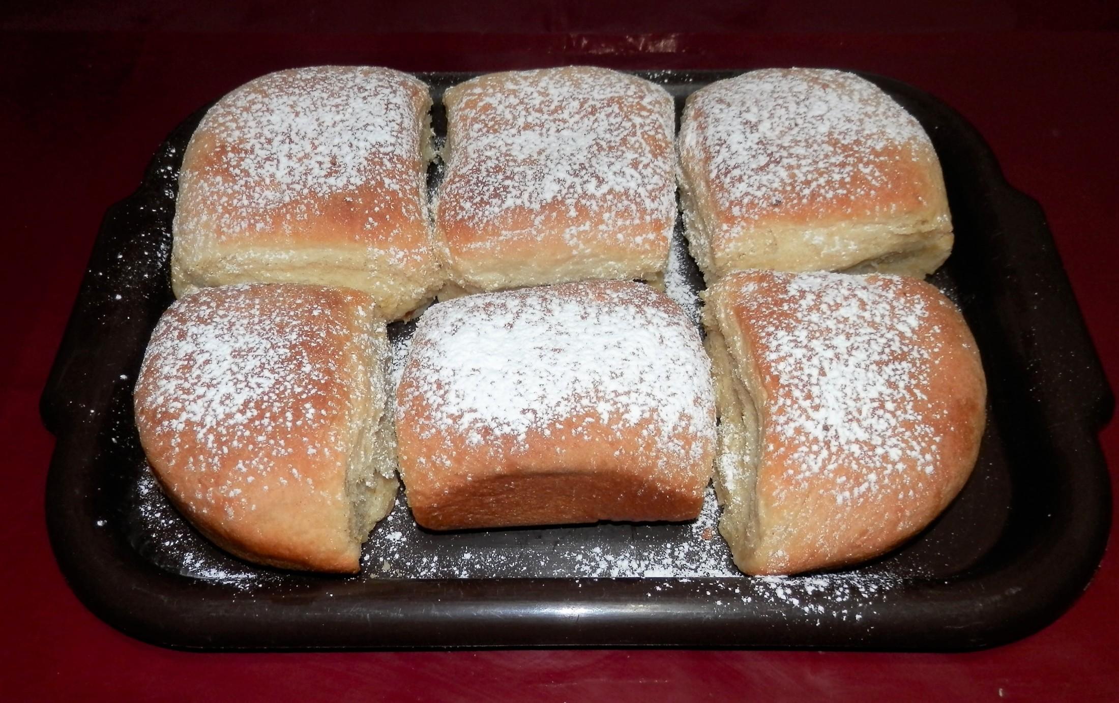 Fotografie receptu: Honzovy buchty do uzlíčku