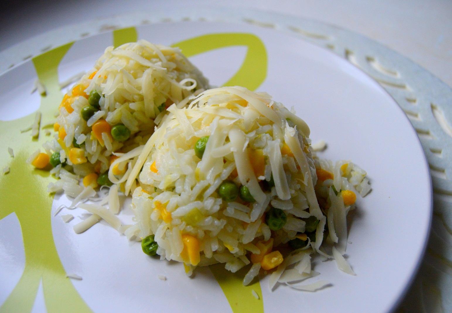 Zeleninové rizoto z jasmínové rýže
