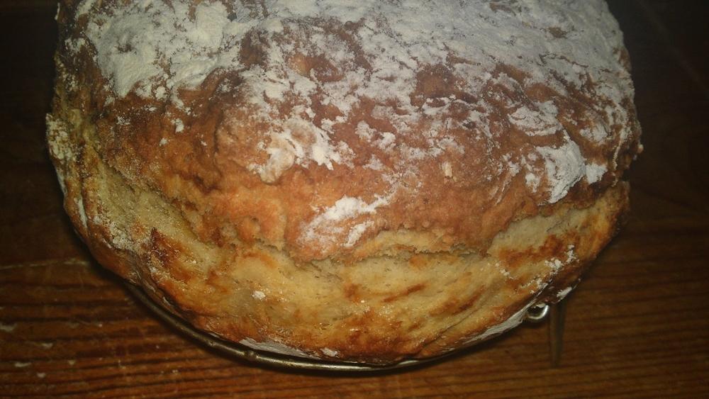 Irský chléb ze špaldové mouky