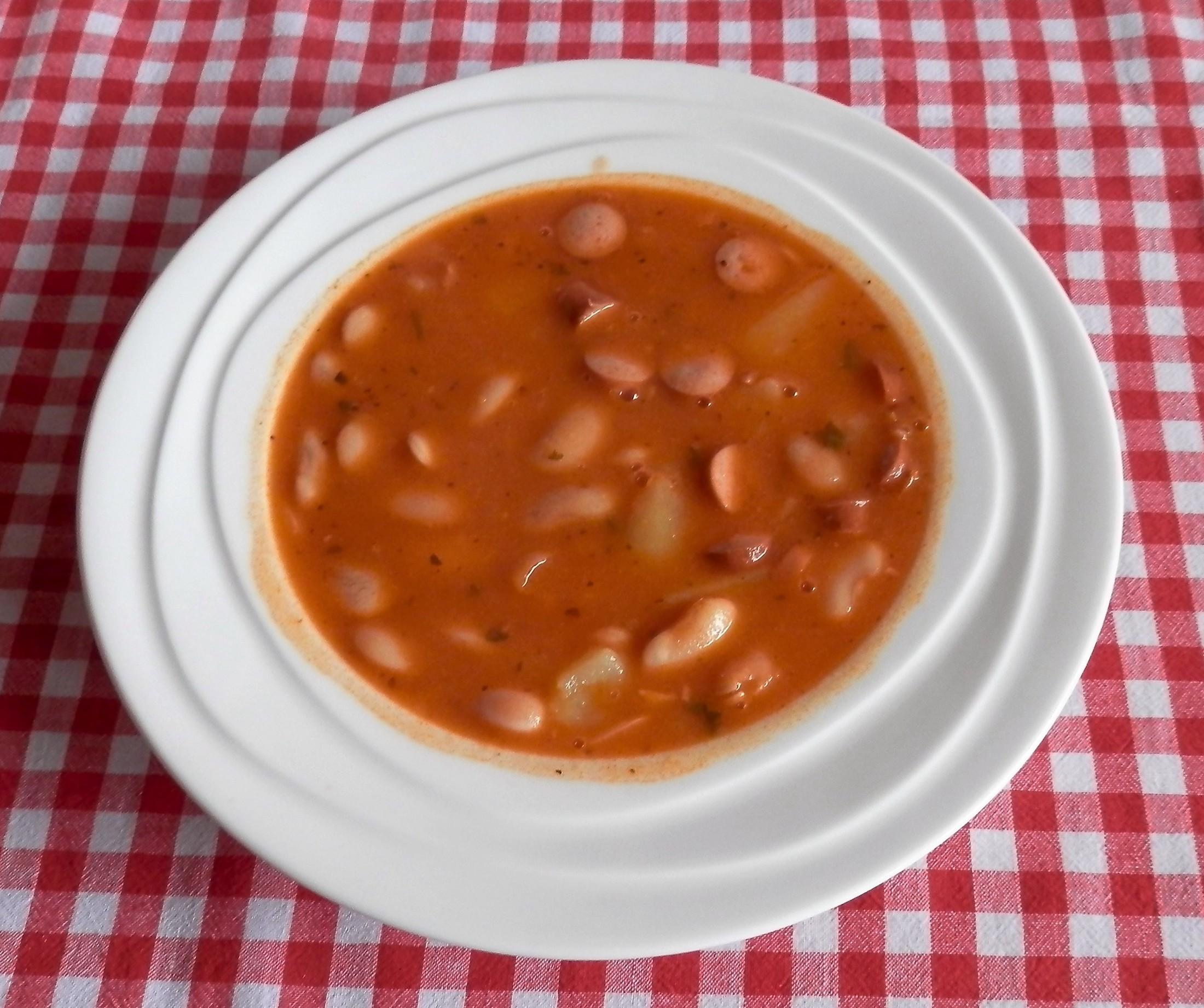 Fotografie receptu: Fazolková polévka