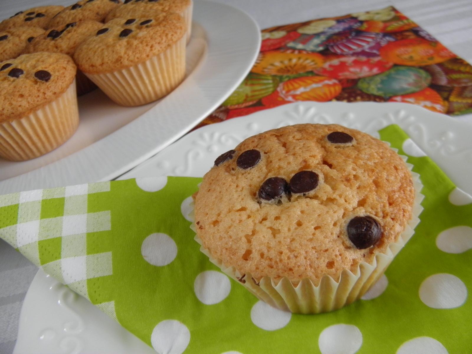 Muffiny s chutí pomeranče