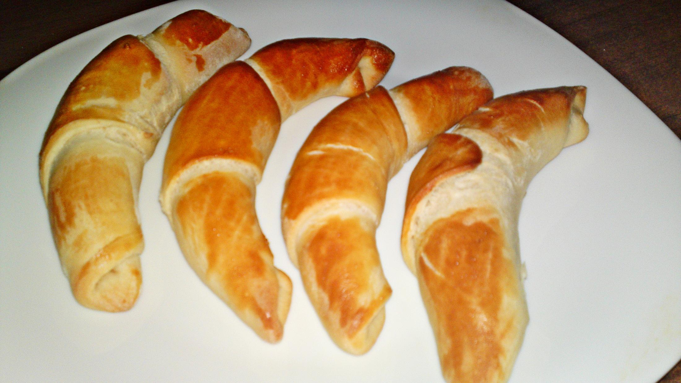 Fotografie receptu: Domácí máslové rohlíky