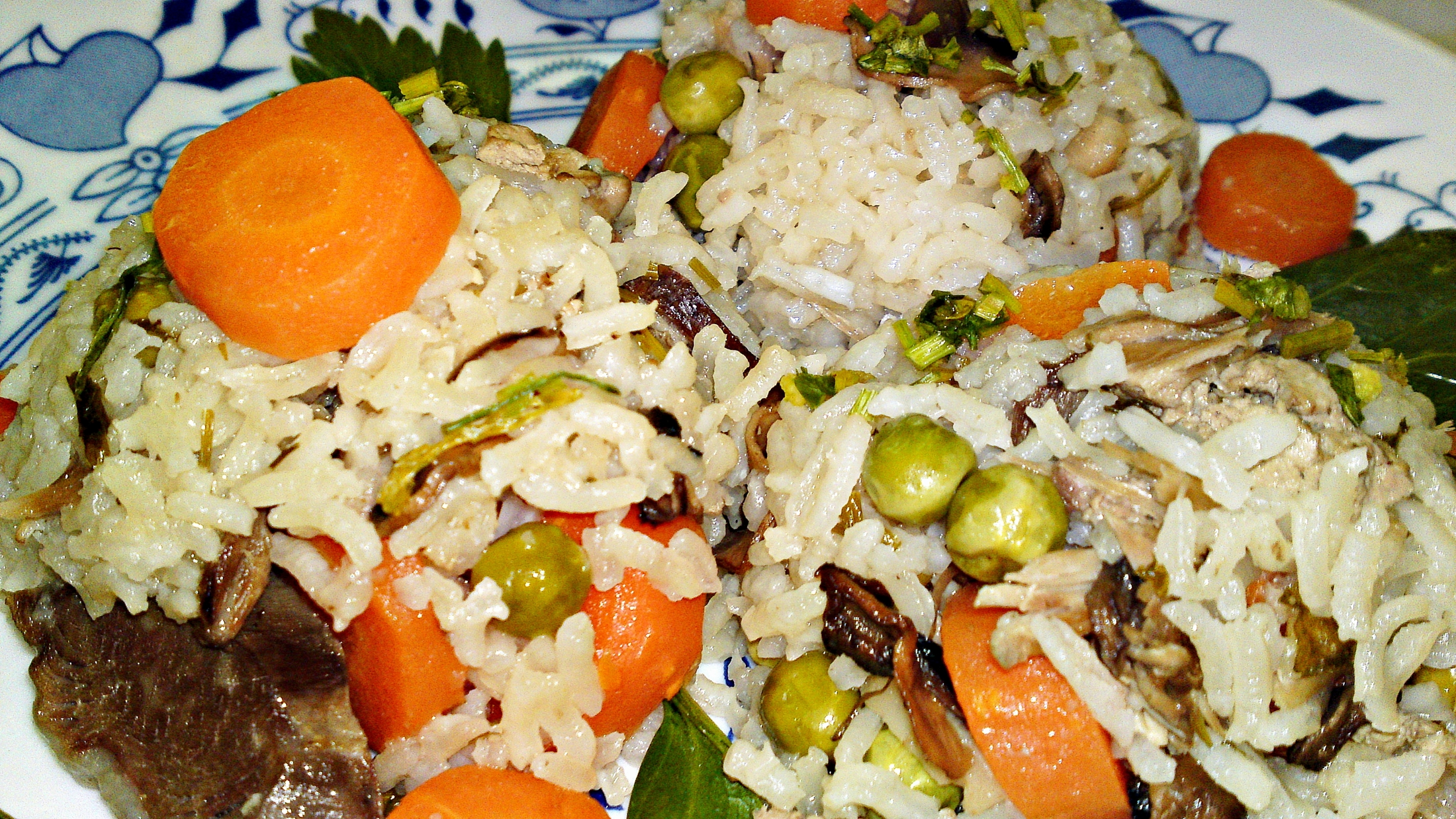 Ludaskása - kaše z rýže a husích drobů