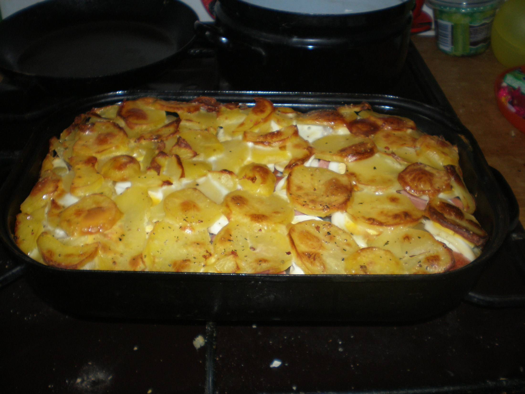 Chutné francouzské brambory