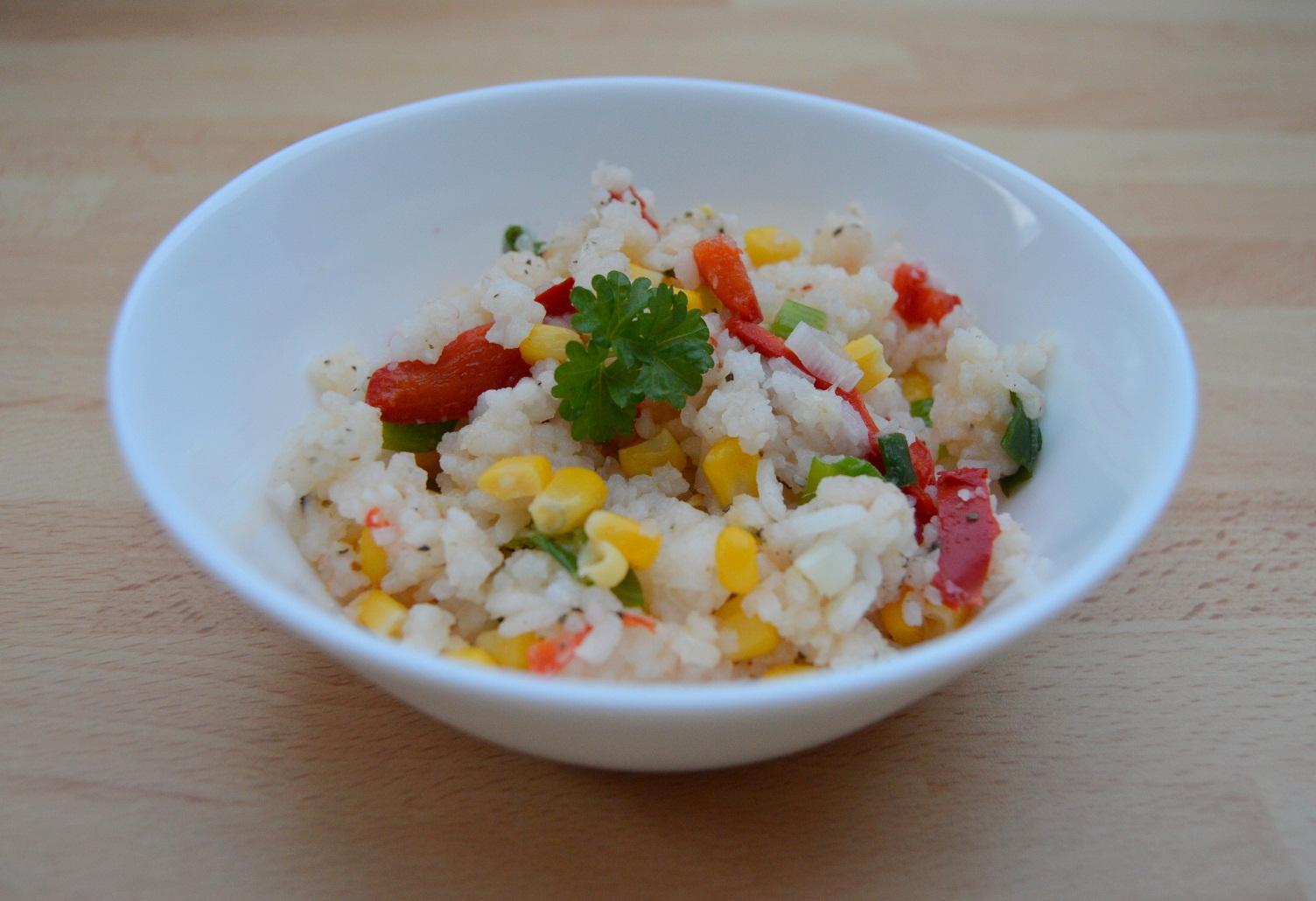 Výborná zeleninová rýže s kapií