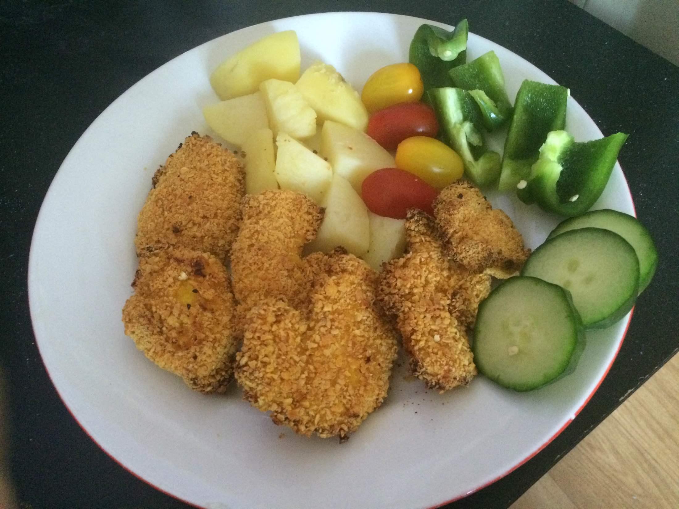 Zdravé kuřecí nugety