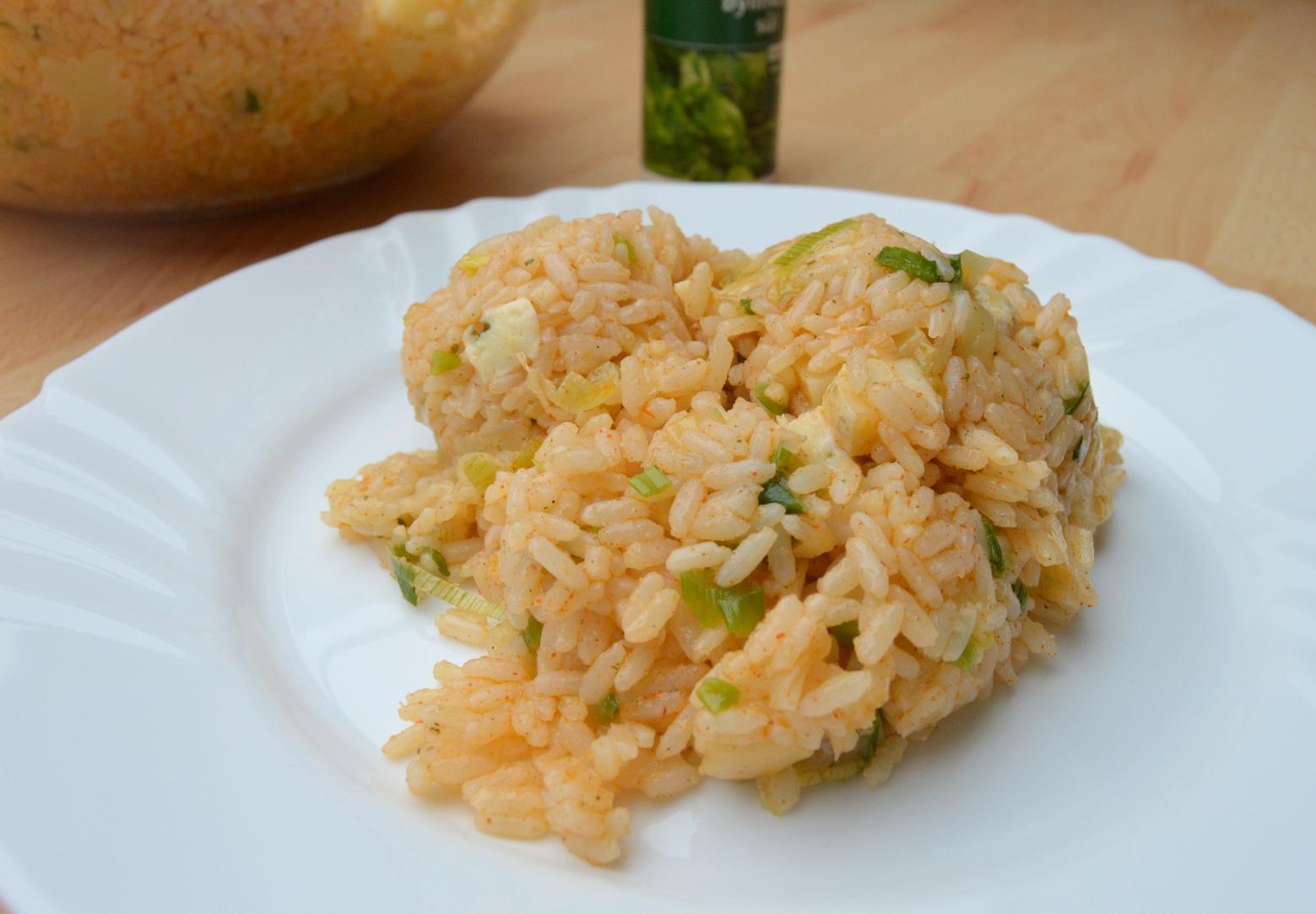 Rýže s více druhy sýra