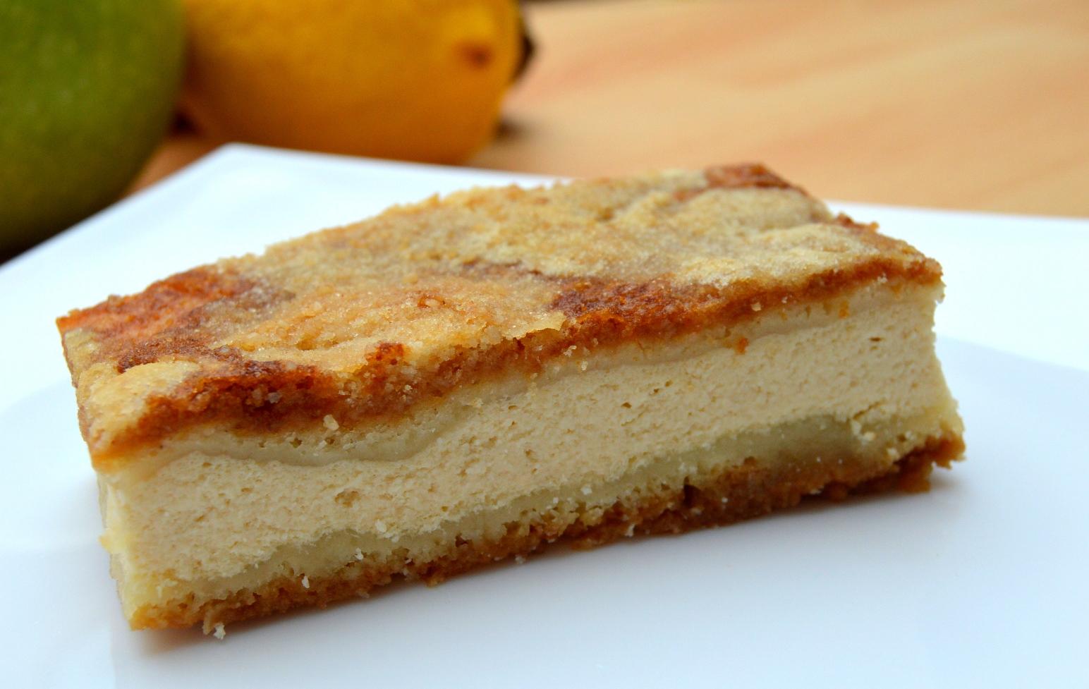 Rychlý tvarohový koláč s krustou