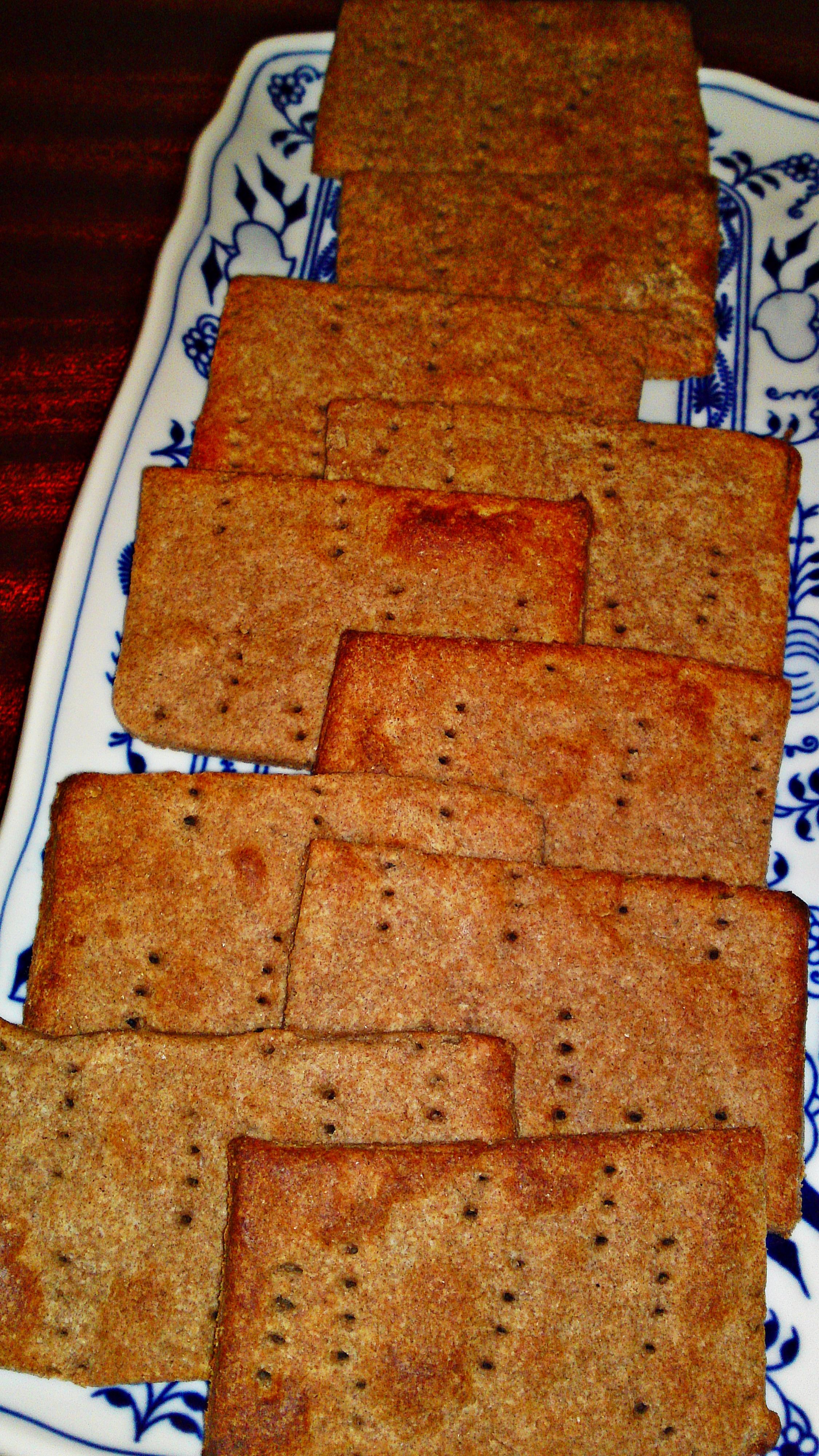 Jemný křupavý švédsky chléb - Knäckebrot