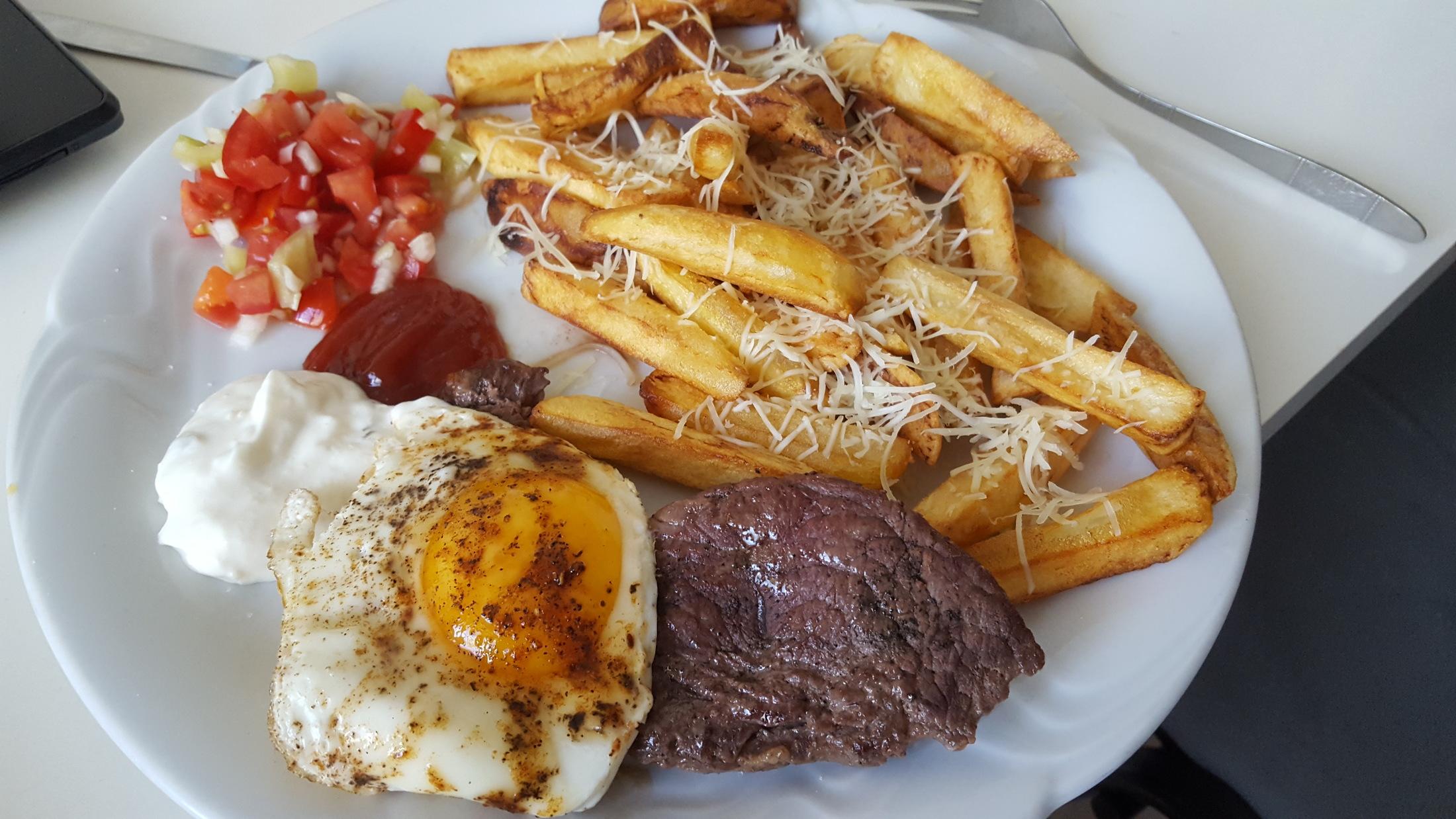 Pravý steak z hovězího roštěnce