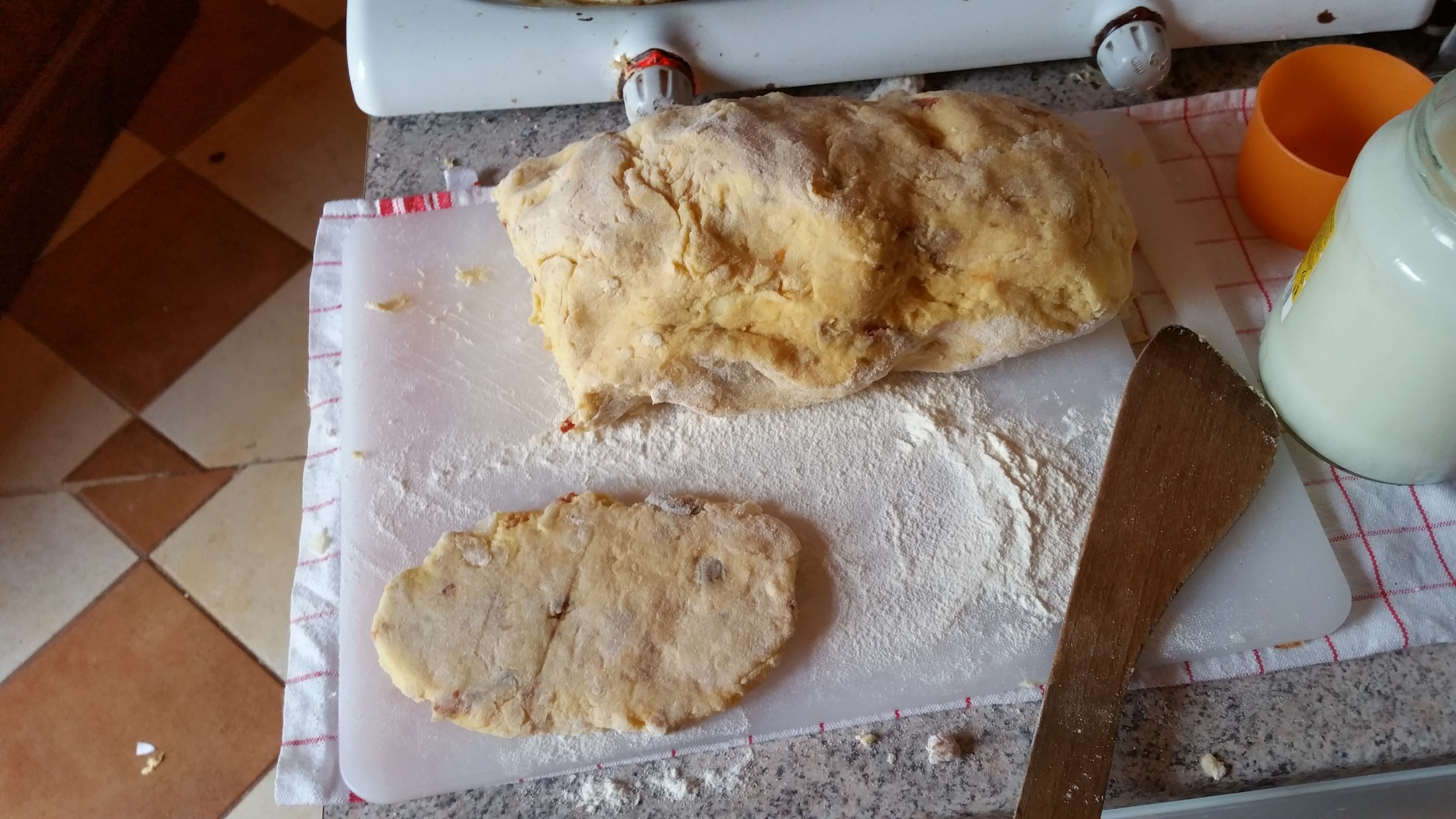 Výborné bramborové placky se škvarky