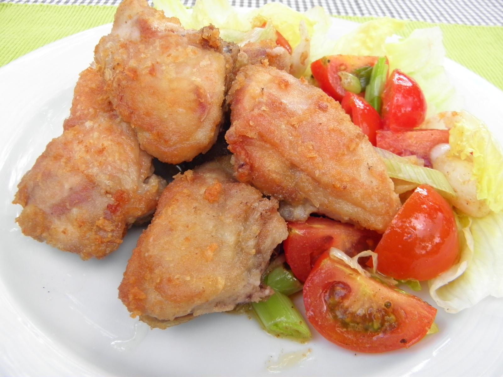 Kořeněné kuřecí špalíčky