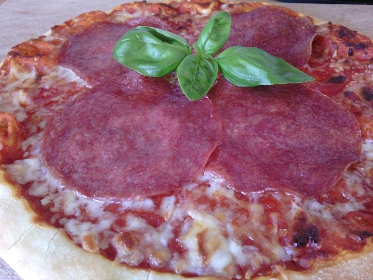 Snadná pizza z pánve