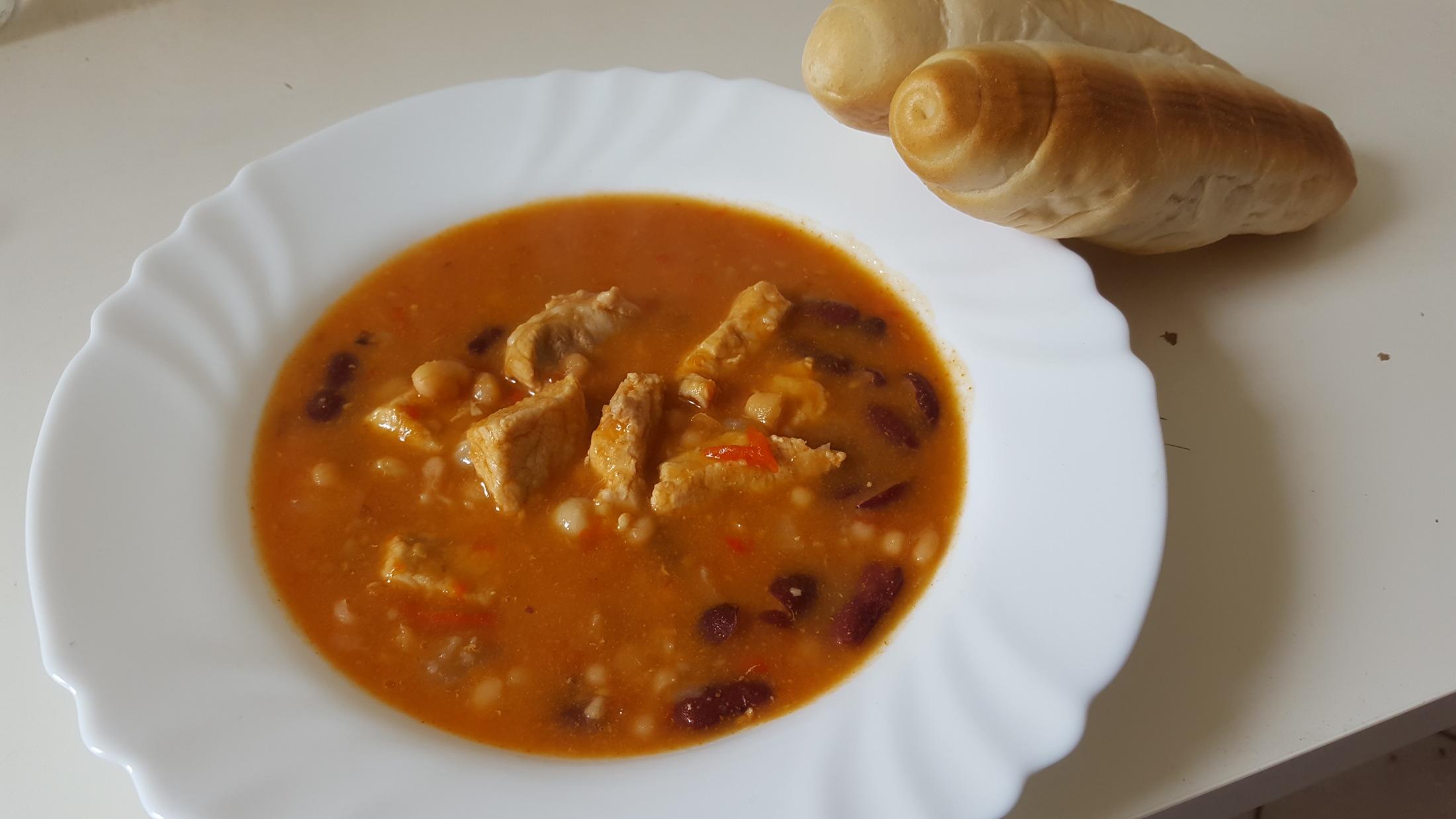 Vepřové chilli con carne