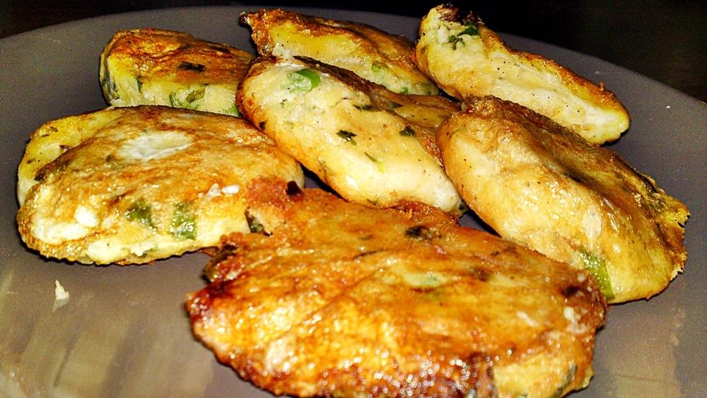 Perkedel kentang - indonéské bramborové placky
