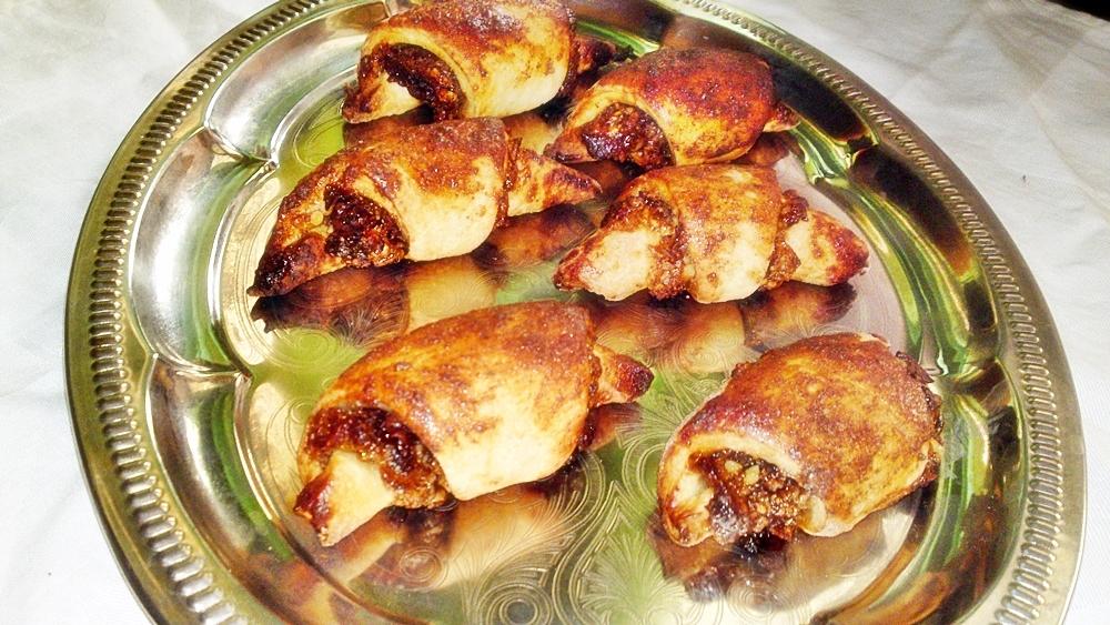 Rugelach - sladké židovské pečivo