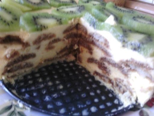 Tvarohovo-smetanový dort bez pečení