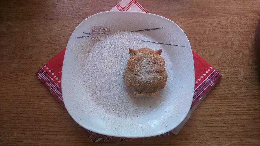 Hruškové sovičkové muffiny