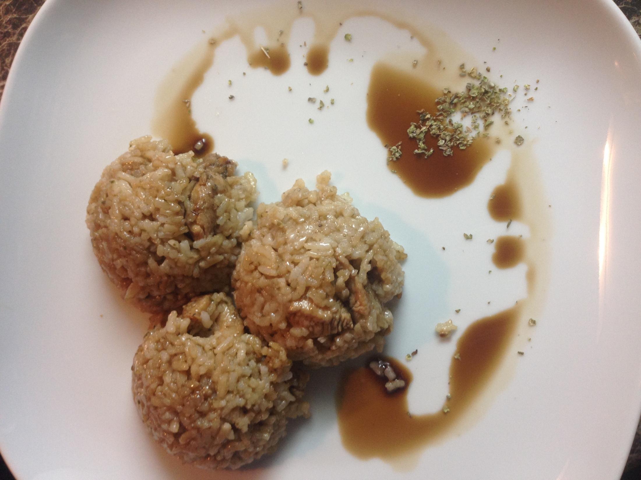 Kuřecí nudličky se sójovou omáčkou a majoránkou