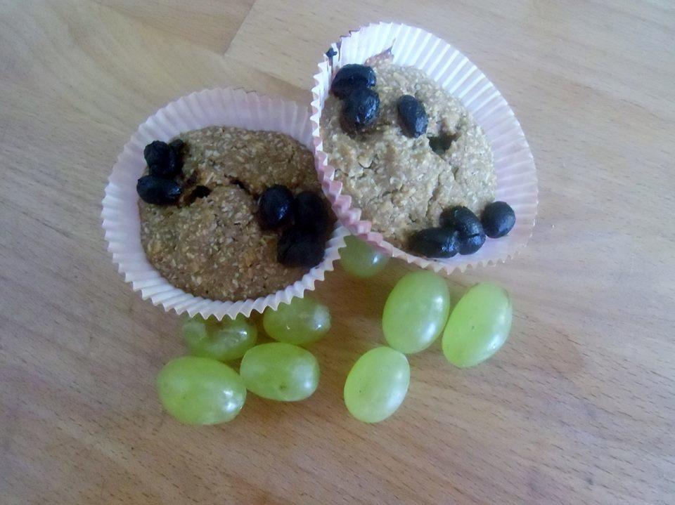 Veganské muffiny