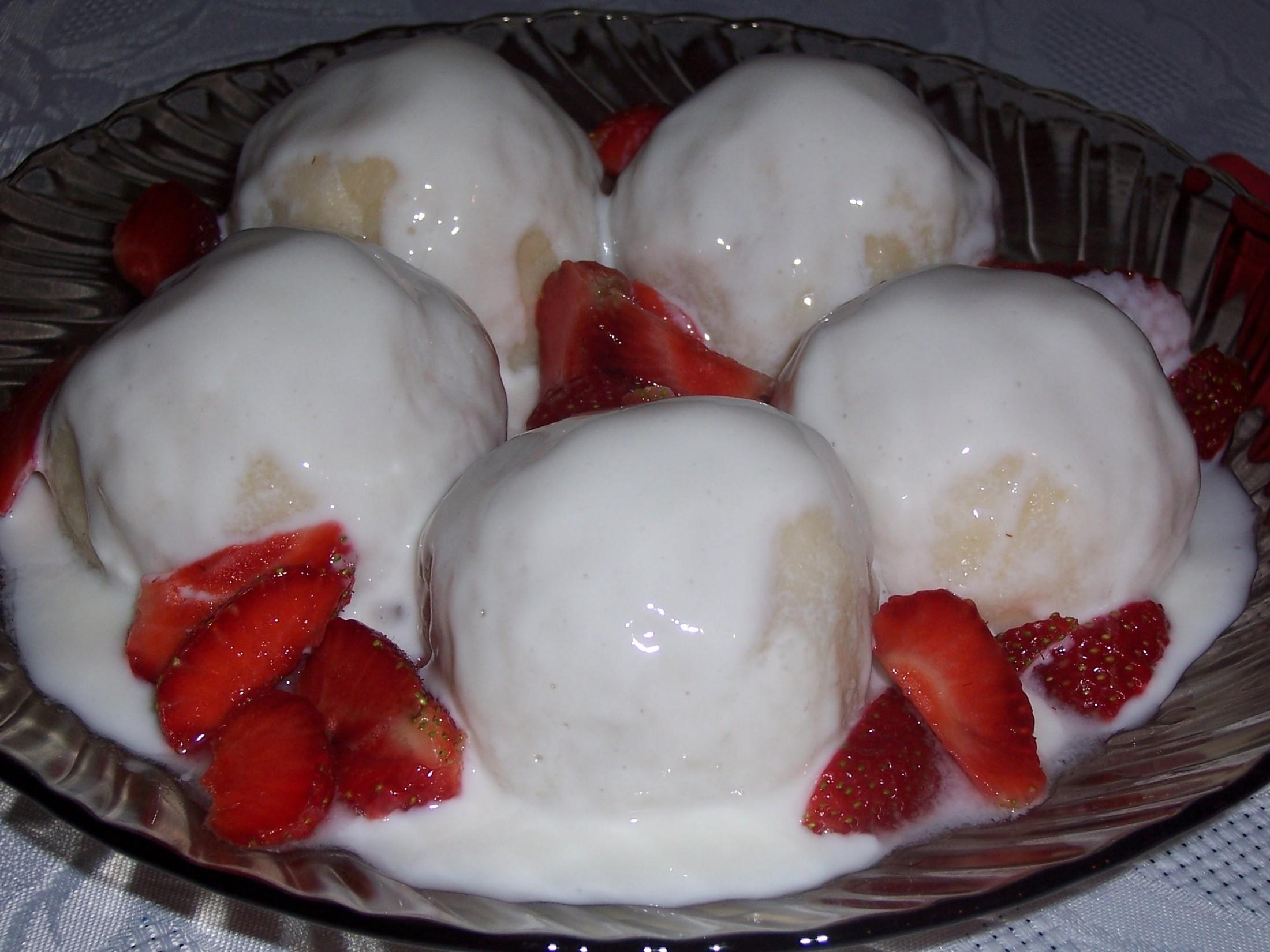 Fotografie receptu: Ovocné knedlíky