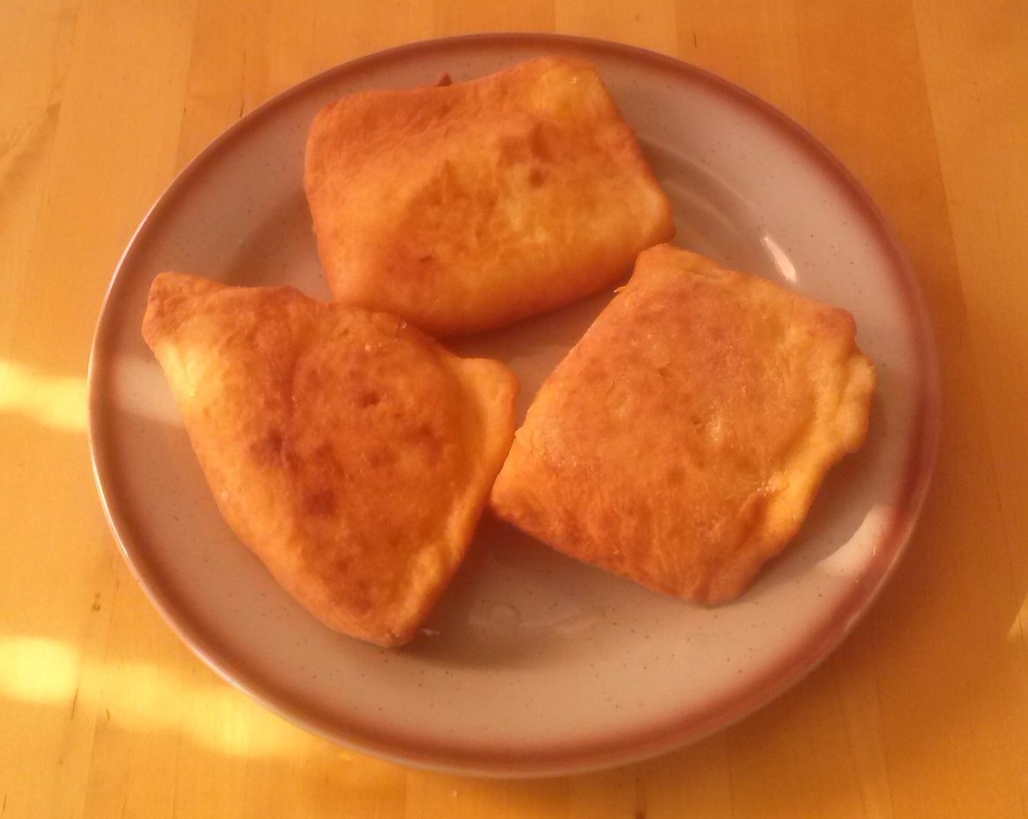 Plněné bramborové pirohy