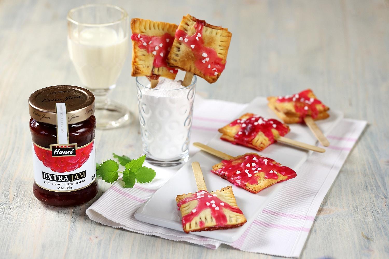 Šátečky s malinovým džemem