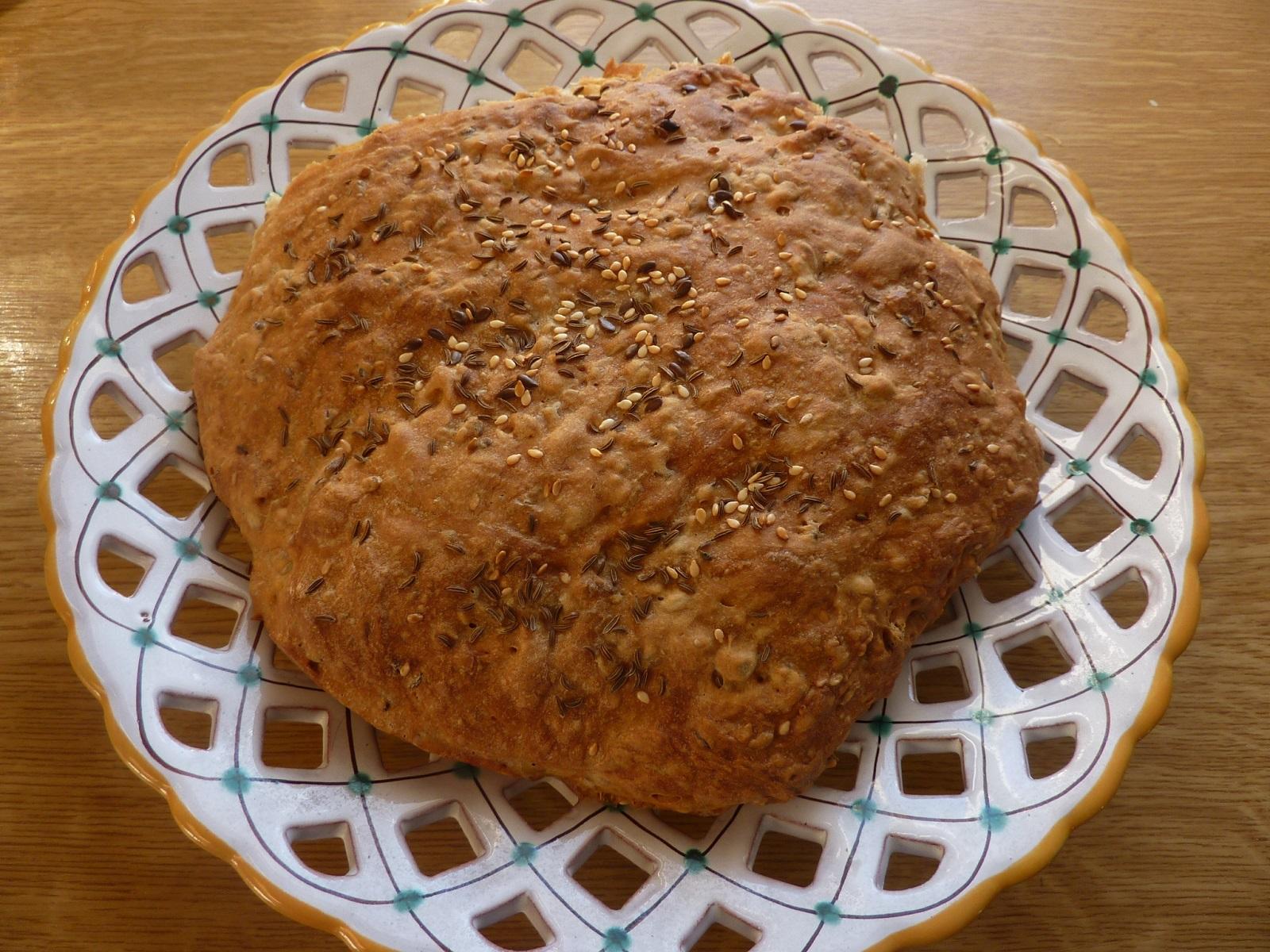 Domácí chlebové bochánky