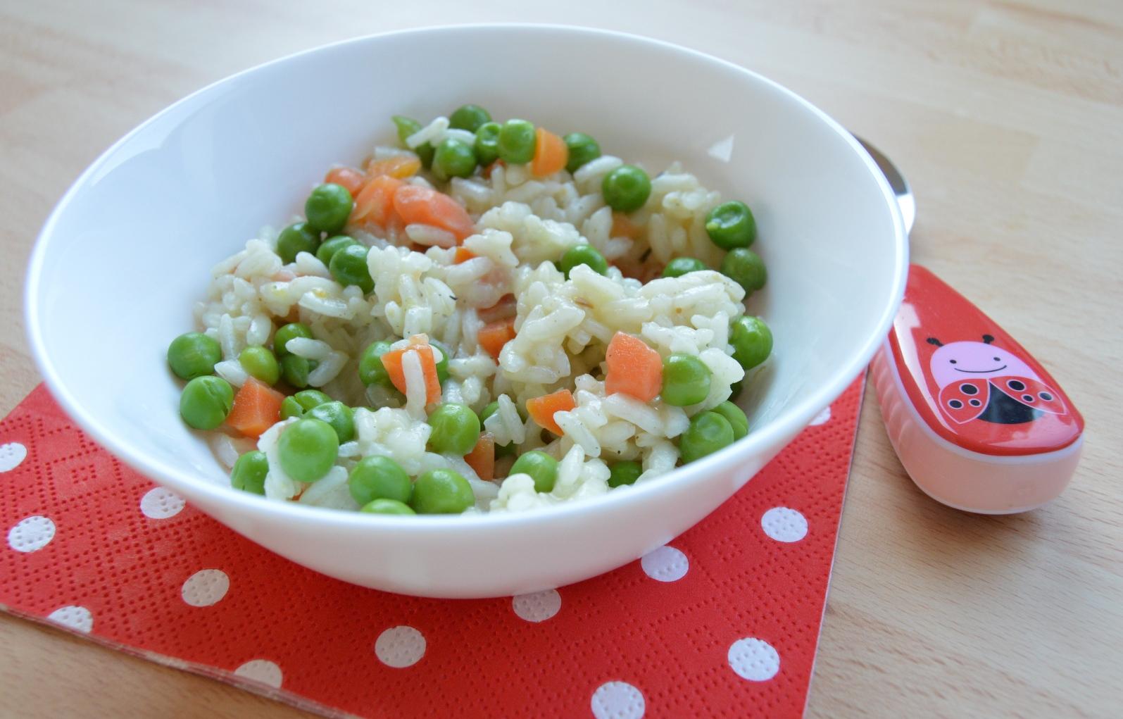 Jemné zeleninové risotto
