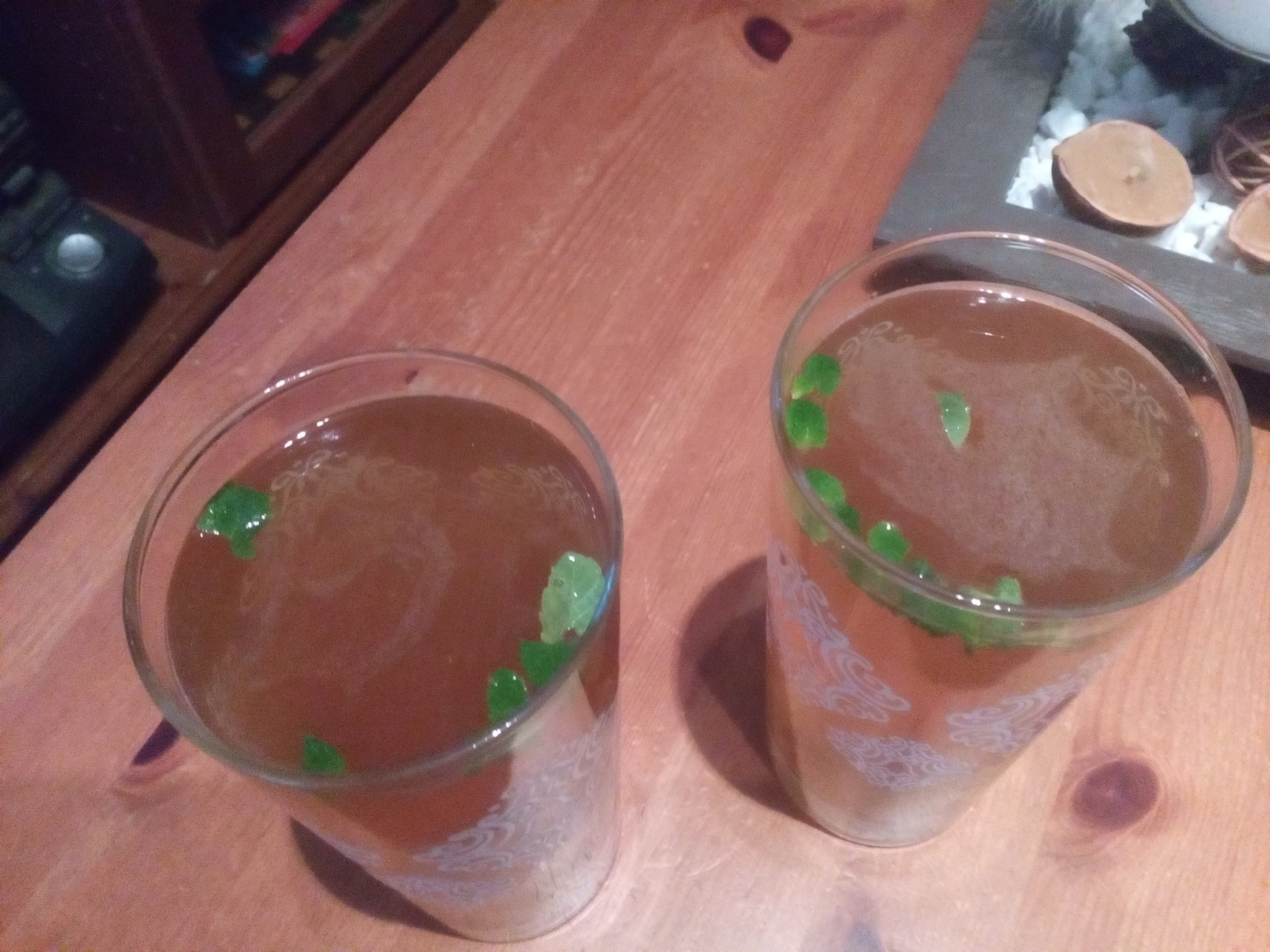 Kiwi nealkoholické mojito