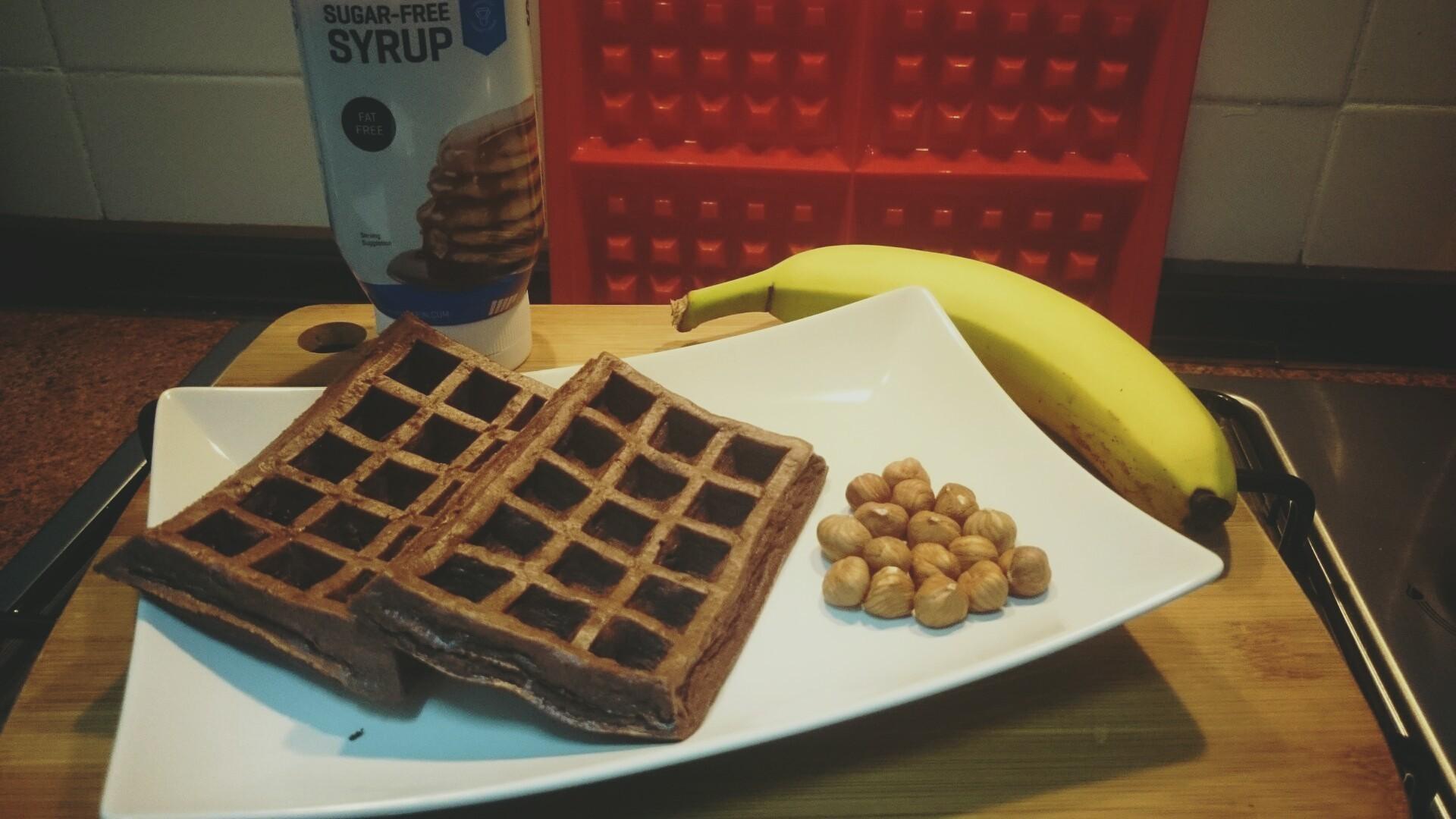 Fitness wafle s čokoládou