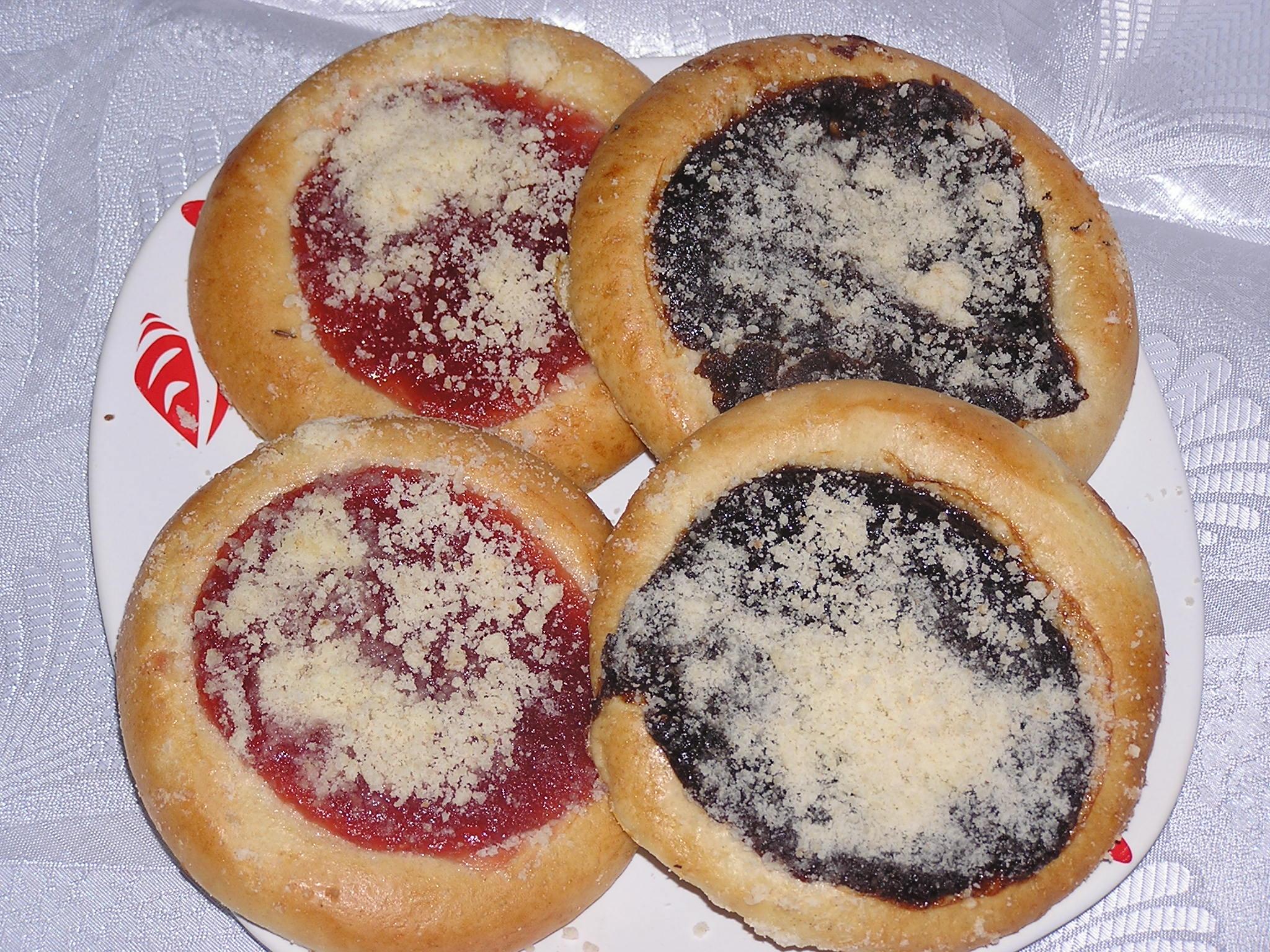 Fotografie receptu: Moravské kynuté koláče