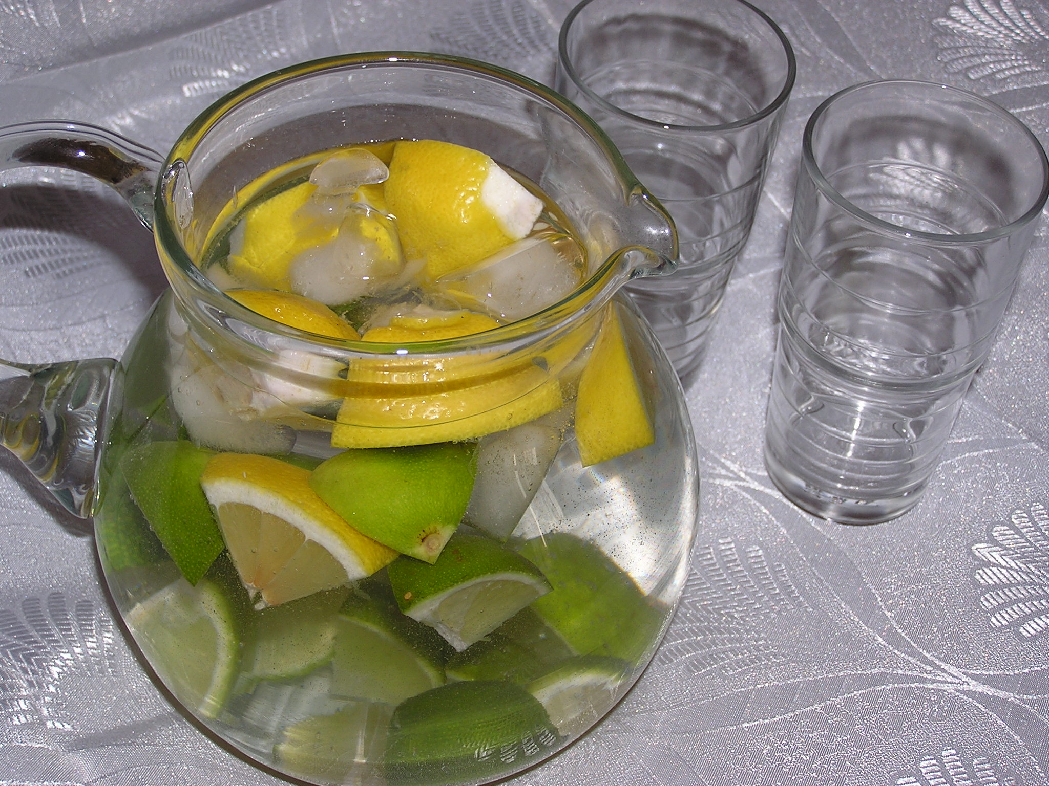 Citrusový džbánek