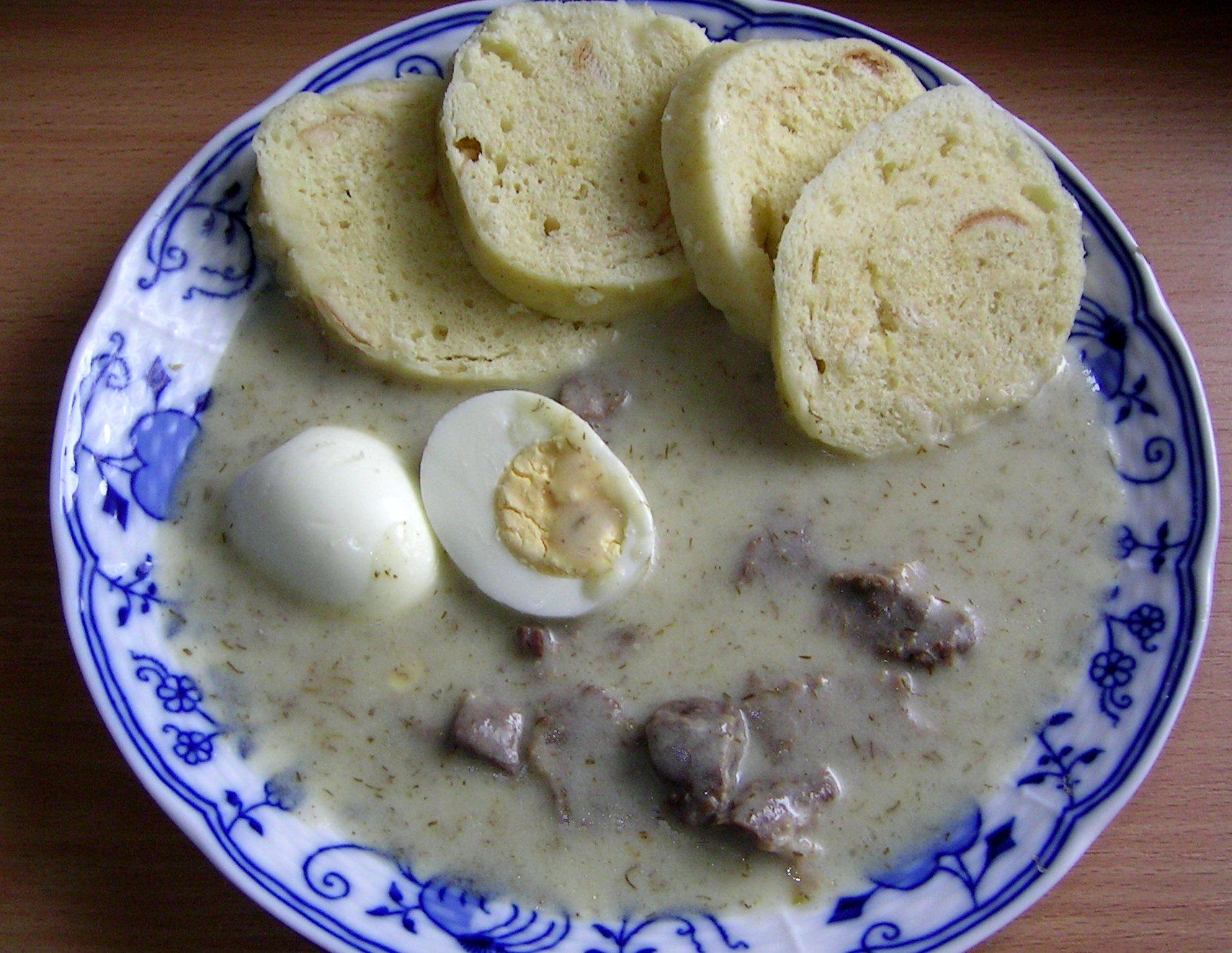 Fotografie receptu: Dědova koprová omáčka