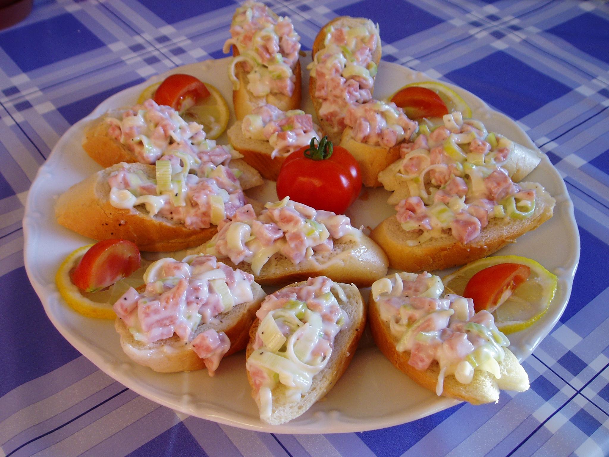 Fotografie receptu: Pórková pomazánka