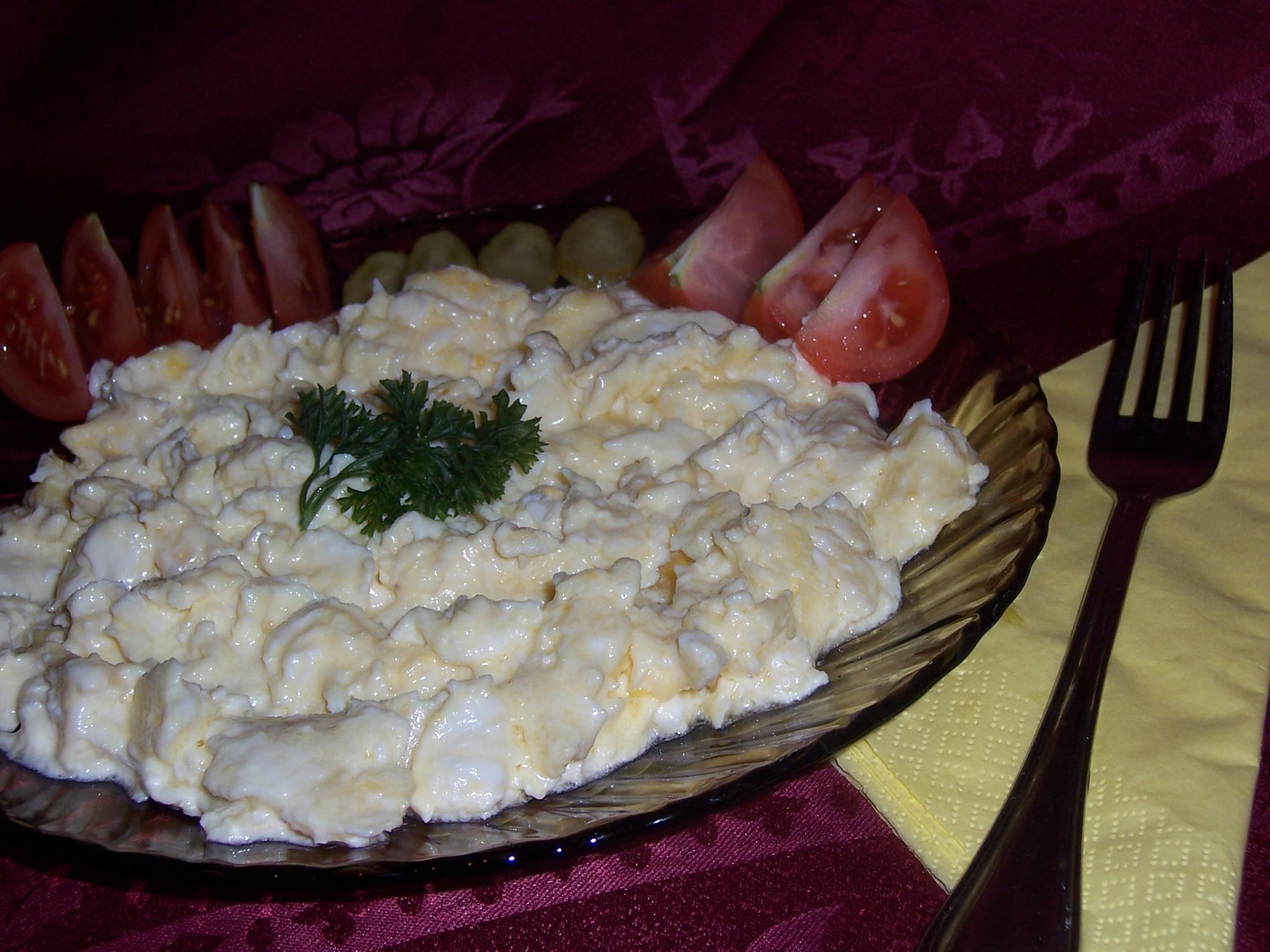 Francouzská míchaná vejce